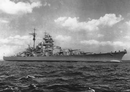 Le DKM Bismarck Bismar11