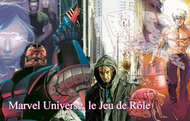 Marvel Universe, le jeu de rôle