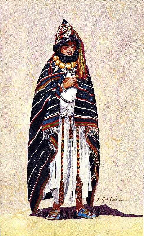 Lecaftan ou costume Amazigh a travers les ages Femme_10