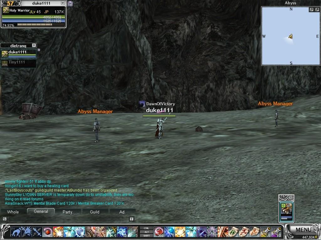 dukes sceenshots Abyss110
