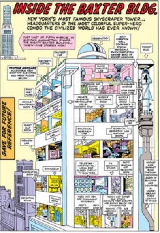 Plans du Baxter Building 250px-10