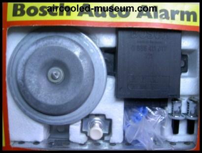 Pose d'une alarme sur nos voitures Bosch-10