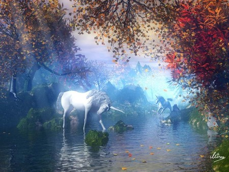 La source Blanche . Licorn10