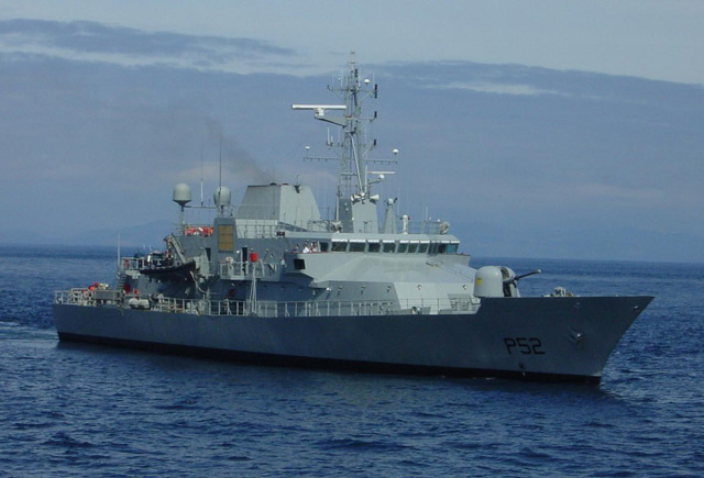 Irish Naval Service - Force Navale Irlandaise 1p10