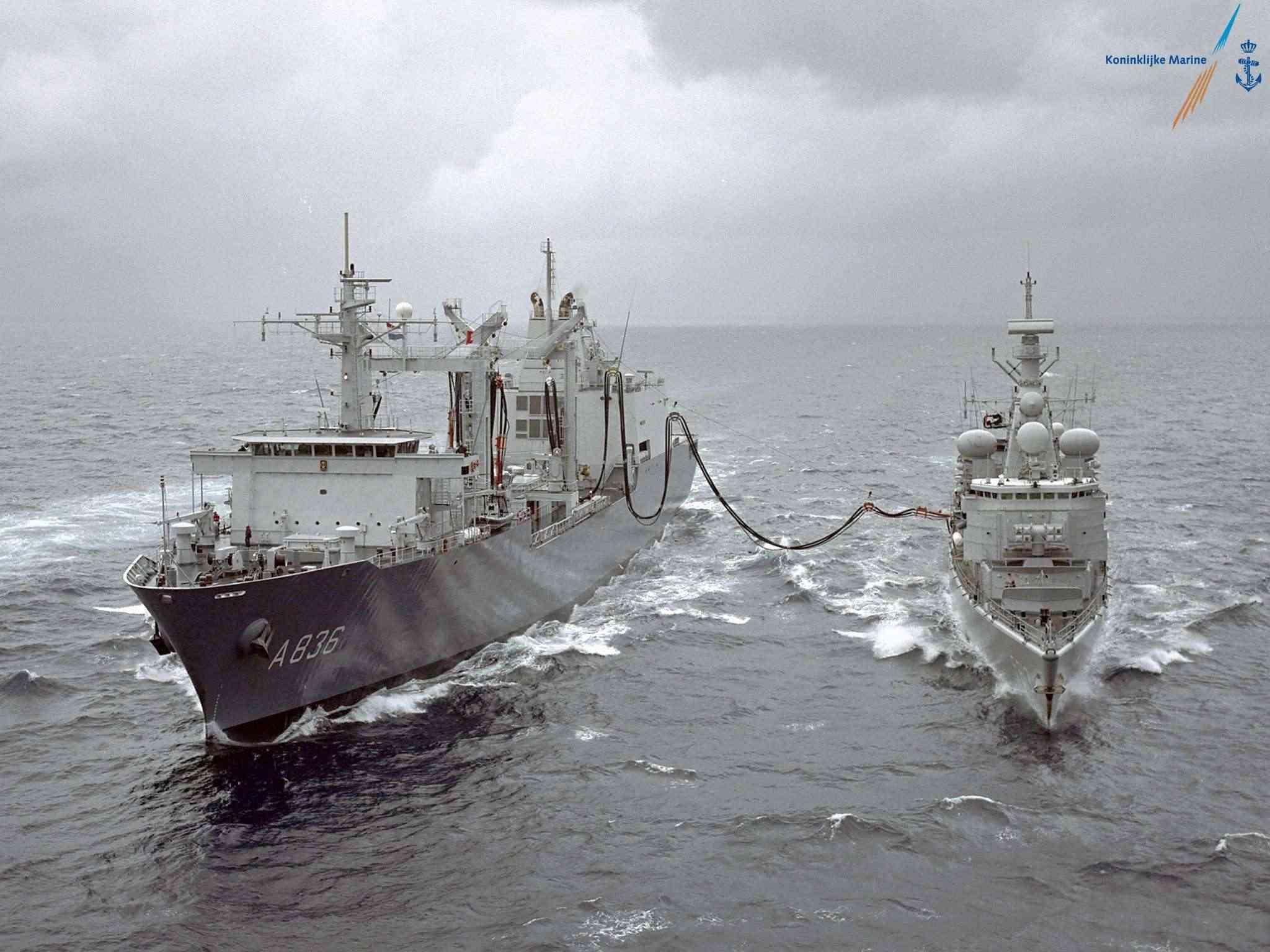 Bevoorradingsschip - Replenishment ships - Ravitailleurs Adam2010