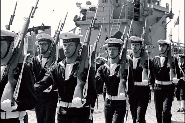Inauguration de STANAVFORCHAN à Ostende le 11 mai 1973 B0021310