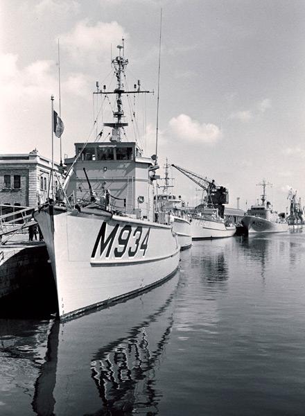 Inauguration de STANAVFORCHAN à Ostende le 11 mai 1973 B0021410