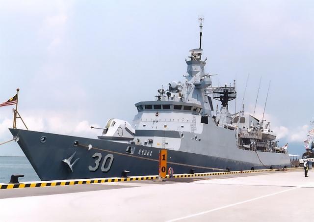 Malaysian Navy - Marine malaisienne Lekiu111