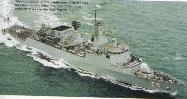 Malaysian Navy - Marine malaisienne Lekiu511