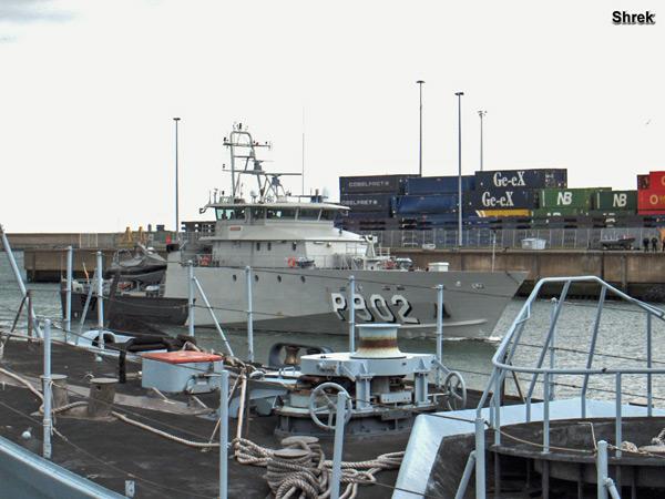 Arrivée du P902 POLLUX à Zeebrugge P902ap10