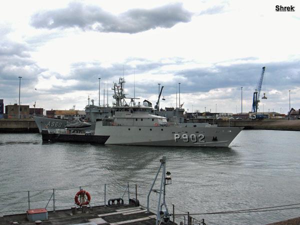 Arrivée du P902 POLLUX à Zeebrugge P902bp10