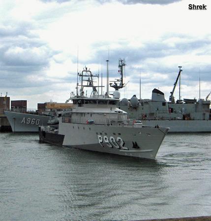 Arrivée du P902 POLLUX à Zeebrugge P902cp10