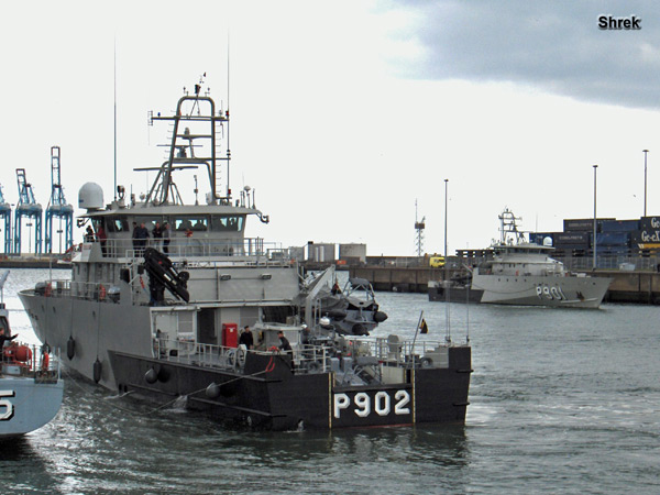 Arrivée du P902 POLLUX à Zeebrugge P902fp10