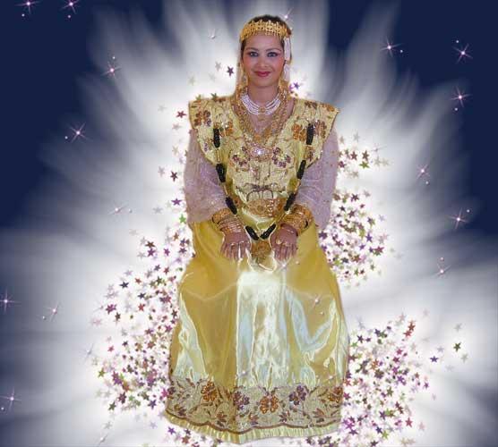 ازياء تقليدية جزائرية 0711