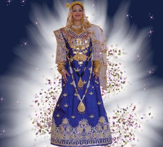 ازياء تقليدية جزائرية 1311
