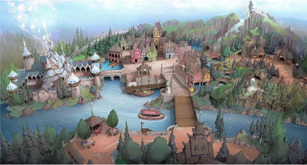 """[Tokyo DisneySea] Fantasy Springs : nouveau Port """"Reine des Neiges/Raiponce/Peter Pan"""" (2023) Frozen10"""