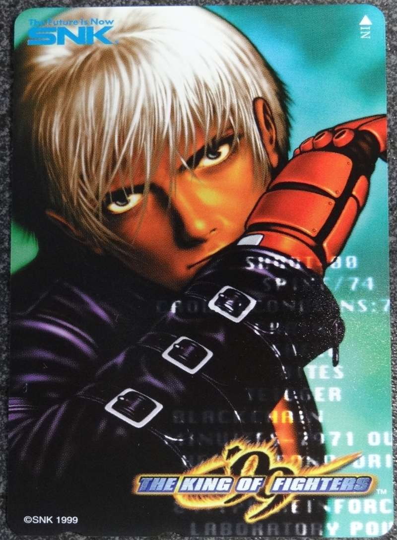 PHONE CARD OFFICIELLE SNK  Kof99f10