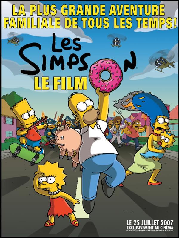 Les Simpson : Le Film [20th Century - 2007] Affich10