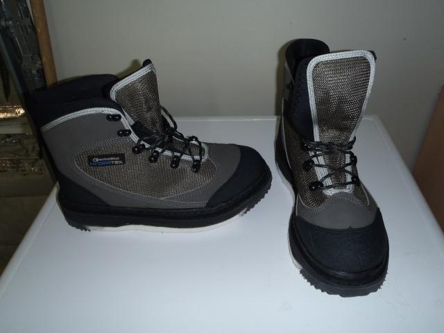 Mes nouvelles chaussure de wading P4290013