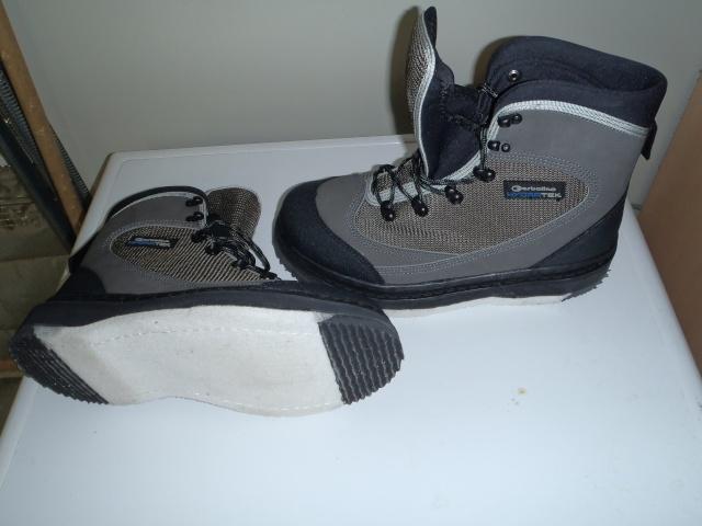 Mes nouvelles chaussure de wading P4290014
