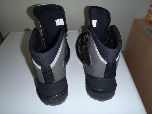 Mes nouvelles chaussure de wading P4290016