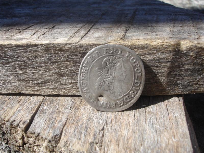 6 Kreuzer. Hungria. 1671. Kremnitz 1210