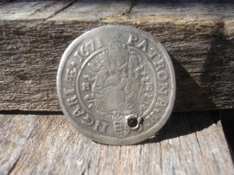 6 Kreuzer. Hungria. 1671. Kremnitz 1310