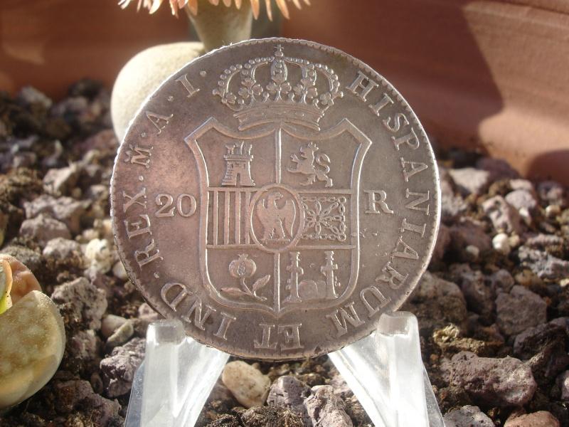 20 Reales. José I. 1809. Madrid Dsc09411