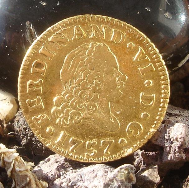 1/2 Escudo. Fernando VI. 1757. Madrid Dsc09418