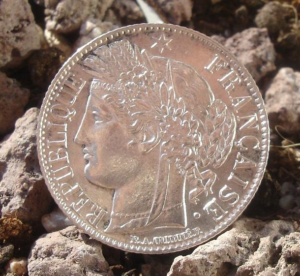 """1 Franc """"Ceres"""". Francia. 1888. Paris Dsc09442"""