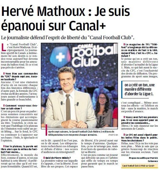 CHAINES DE  FOOT A LA TELE  : CFOOT/ C+ TF1 M6 ET LES AUTRES  - Page 23 2513