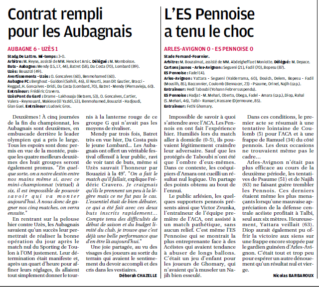 AC ARLES-AVIGNON B // CFA2  MEDITERRANEE GROUPE E  - Page 31 511