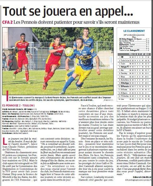 SPORTING TOULON VAR // CFA2 MEDITERRANEE - Page 35 5b10