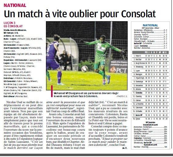 Vendée Luçon Football (National) - Page 3 7a11