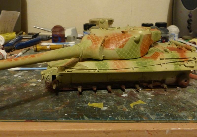 panzer - (panzer-model) Nouveau projet ! VK 46.01 K. PST I Projekt - Page 3 P1010119