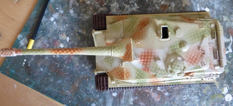panzer - (panzer-model) Nouveau projet ! VK 46.01 K. PST I Projekt - Page 3 P1010121