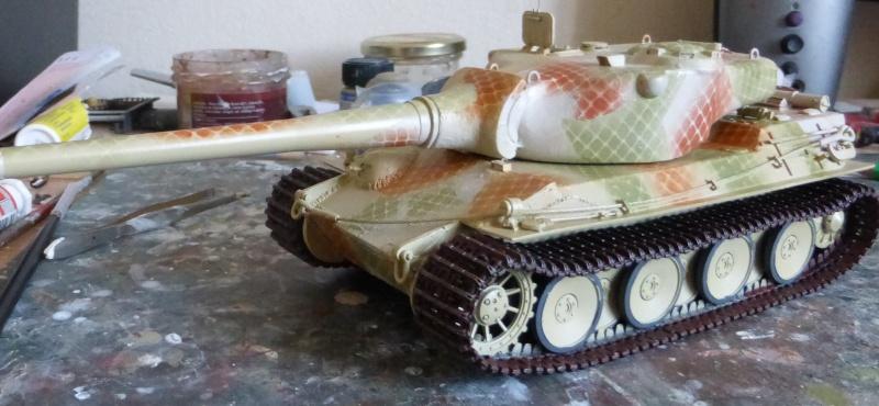 panzer - (panzer-model) Nouveau projet ! VK 46.01 K. PST I Projekt - Page 3 P1010122