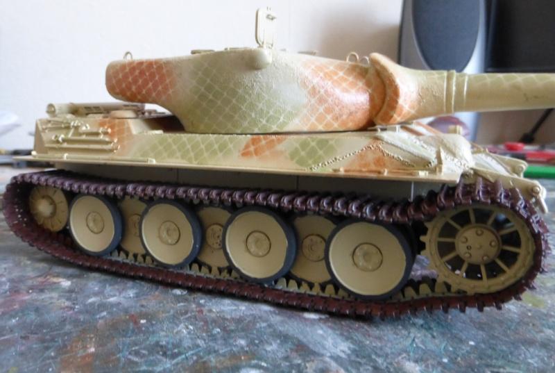 panzer - (panzer-model) Nouveau projet ! VK 46.01 K. PST I Projekt - Page 3 P1010124