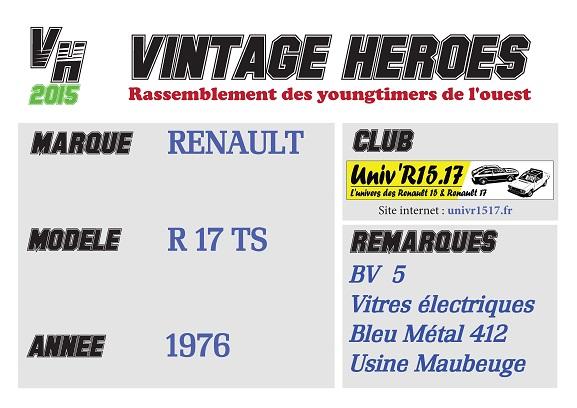 Rassemblement de Youngtimers à la Turballe (44) le 24 mai (Vintage Heroes) - Page 3 Fiche-11