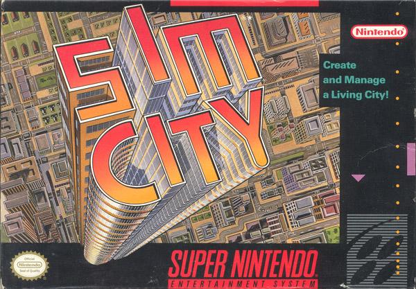 Sim City ( Super Nintendo) Simcit10