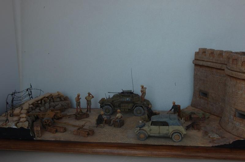 De Tobruk à El Alamein - Octobre 42 - Maquettes Tamiya et Italeri - Figurines MK35 - 1/35e Tobruk10