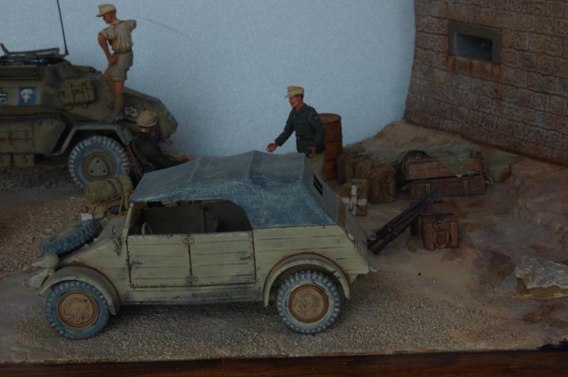 De Tobruk à El Alamein - Octobre 42 - Maquettes Tamiya et Italeri - Figurines MK35 - 1/35e Tobruk22