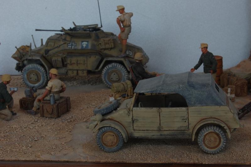 De Tobruk à El Alamein - Octobre 42 - Maquettes Tamiya et Italeri - Figurines MK35 - 1/35e Tobruk23