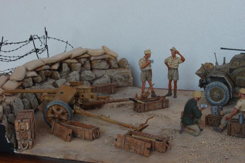 De Tobruk à El Alamein - Octobre 42 - Maquettes Tamiya et Italeri - Figurines MK35 - 1/35e Tobruk24