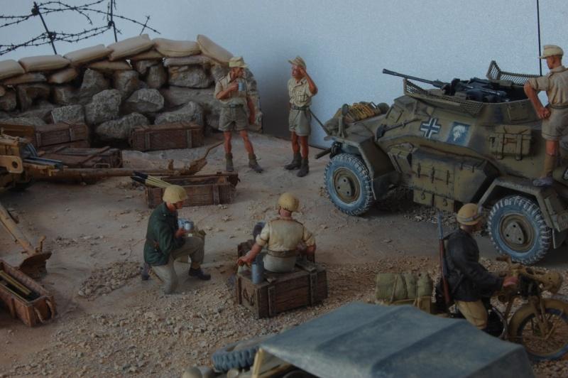 De Tobruk à El Alamein - Octobre 42 - Maquettes Tamiya et Italeri - Figurines MK35 - 1/35e Tobruk26