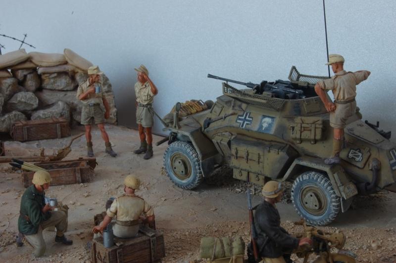 De Tobruk à El Alamein - Octobre 42 - Maquettes Tamiya et Italeri - Figurines MK35 - 1/35e Tobruk27