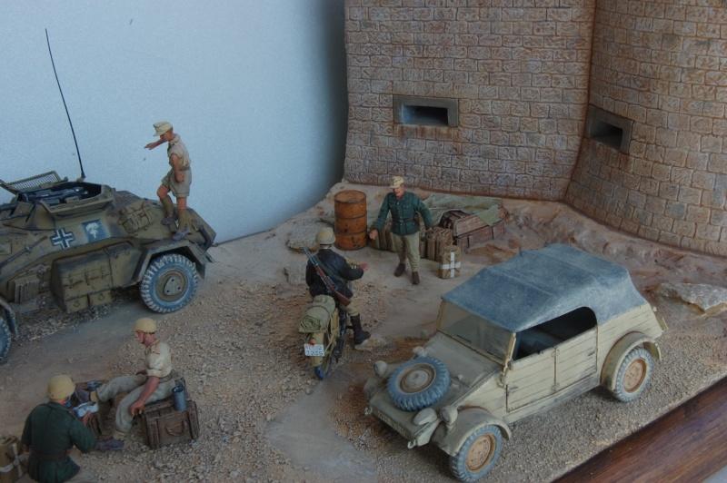 De Tobruk à El Alamein - Octobre 42 - Maquettes Tamiya et Italeri - Figurines MK35 - 1/35e Tobruk29