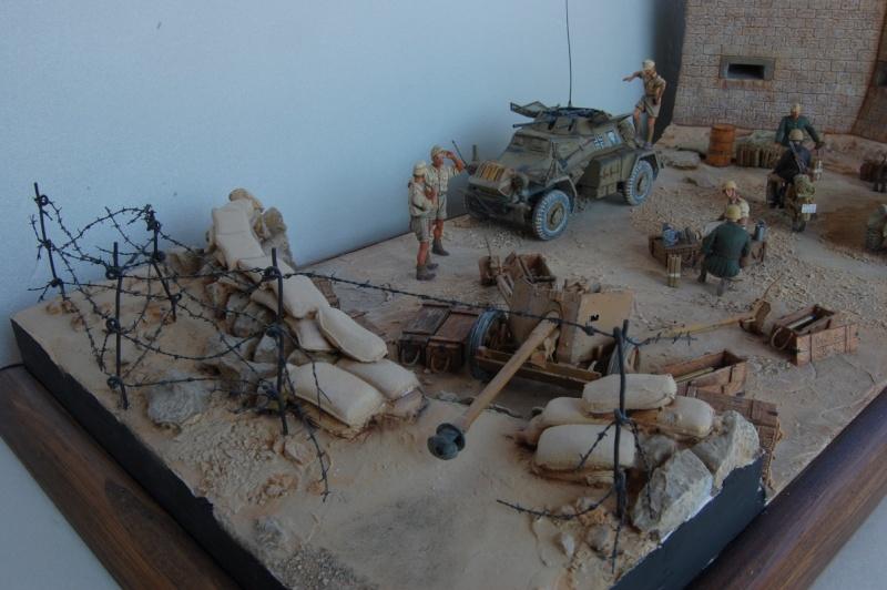 De Tobruk à El Alamein - Octobre 42 - Maquettes Tamiya et Italeri - Figurines MK35 - 1/35e Tobruk32