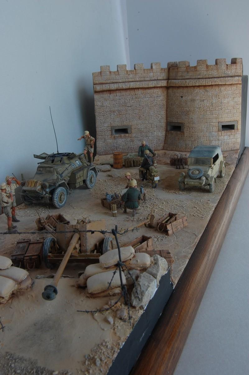 De Tobruk à El Alamein - Octobre 42 - Maquettes Tamiya et Italeri - Figurines MK35 - 1/35e Tobruk33