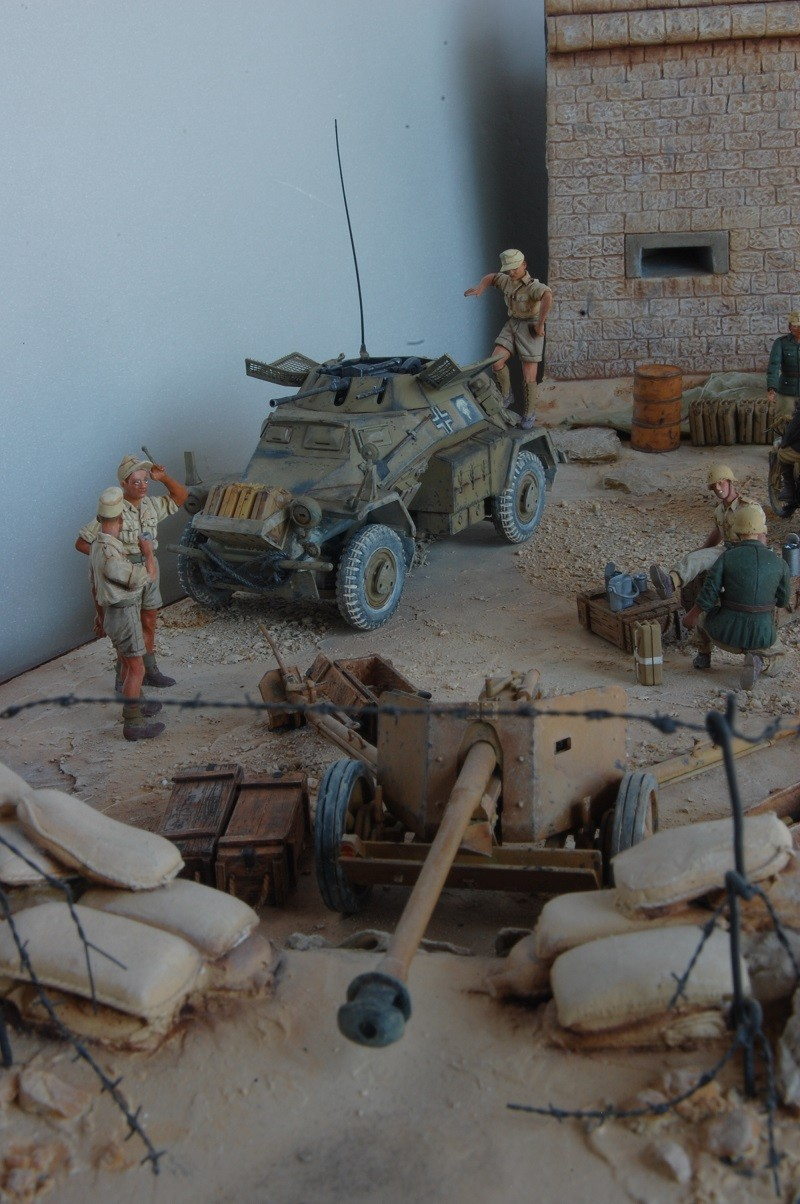 De Tobruk à El Alamein - Octobre 42 - Maquettes Tamiya et Italeri - Figurines MK35 - 1/35e Tobruk34